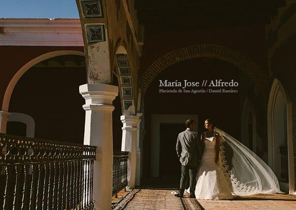 Fotos de Bodas en Haciendas / Maria Jose + Alfredo - Boda en Hacienda de San Agustin