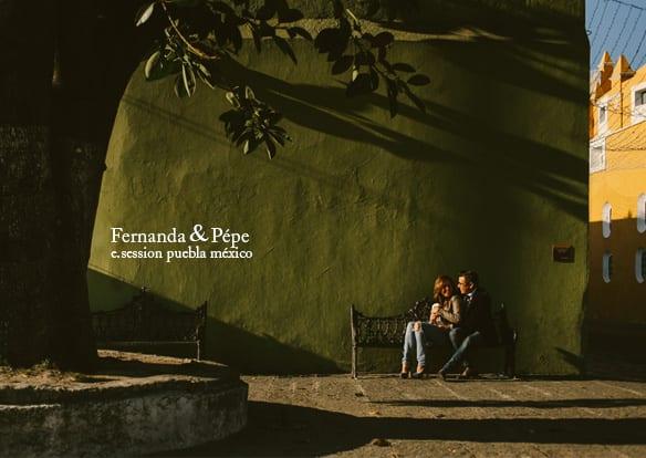 Fernanda + Pepe - Fotos en Puebla - Sesión Casual