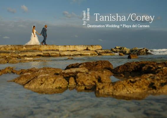 Playa del Carmen Wedding Photos - Tanisha and Corey at The Royal