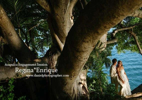 Fotógrafo de Bodas en Acapulco - Regina & Enrique - Sesión Casual