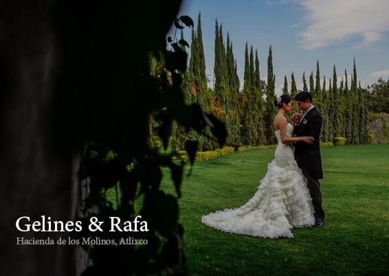 Gelines & Rafa - Haciendas para Bodas en Atlixco - Boda en Hacienda Los Molinos