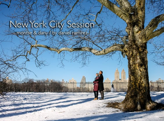 New York City Session - Montse & Dany / New York Photographers
