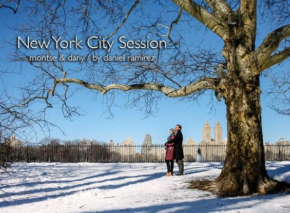New York City Session - Montse & Dany / New York Photographers