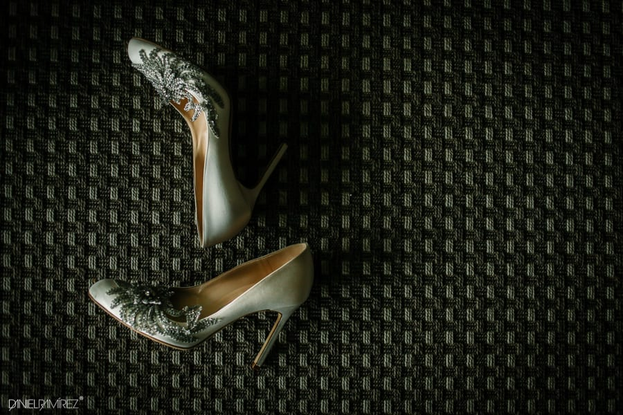 bride shoes cancun