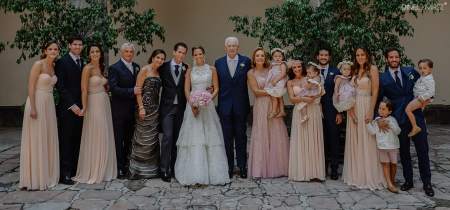 retratos familiares boda