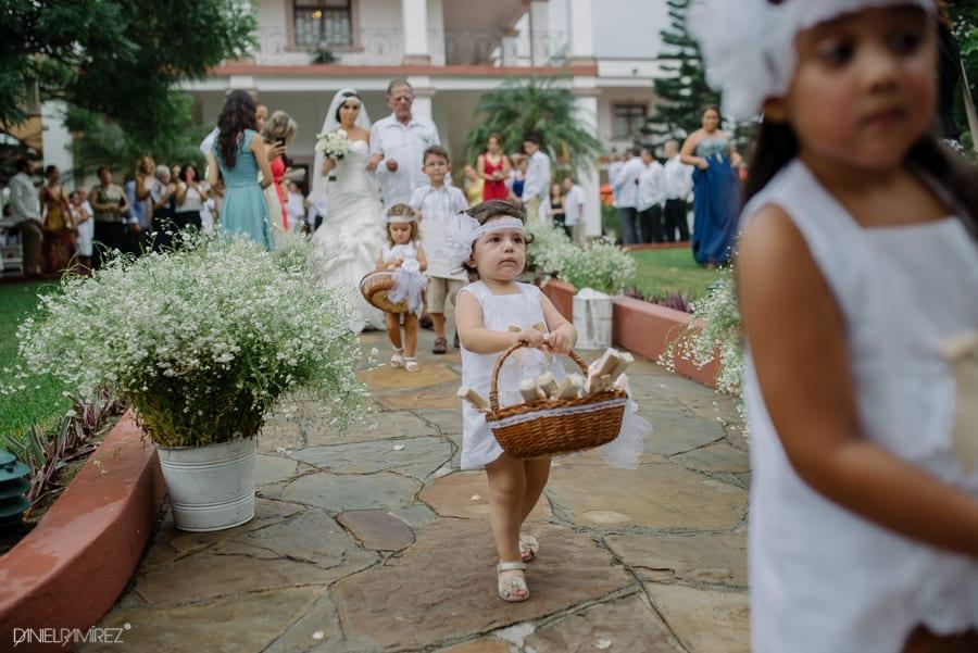 vestidos de pajes boda de dia
