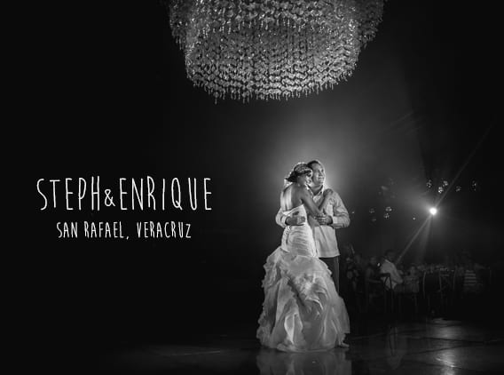 Steph & Enrique - Bodas en Finca Garullo, San Rafael Veracruz - Fotografos Veracruz