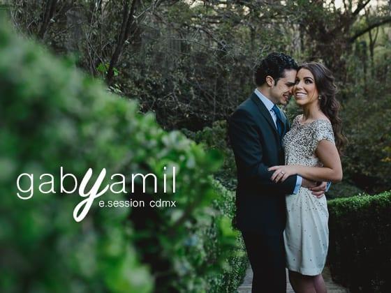 Gaby + Yamil - E-Session - Fotografos de la Ciudad de México