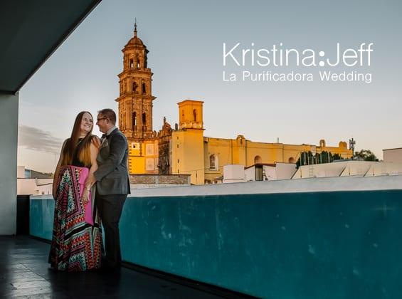 Kristina + Jeff - Bodas en La Purificadora