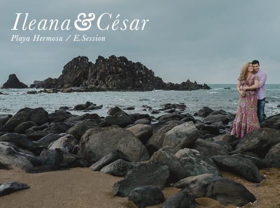 Ileana + Cesar - Playa Hermosa - Fotógrafos en Veracruz