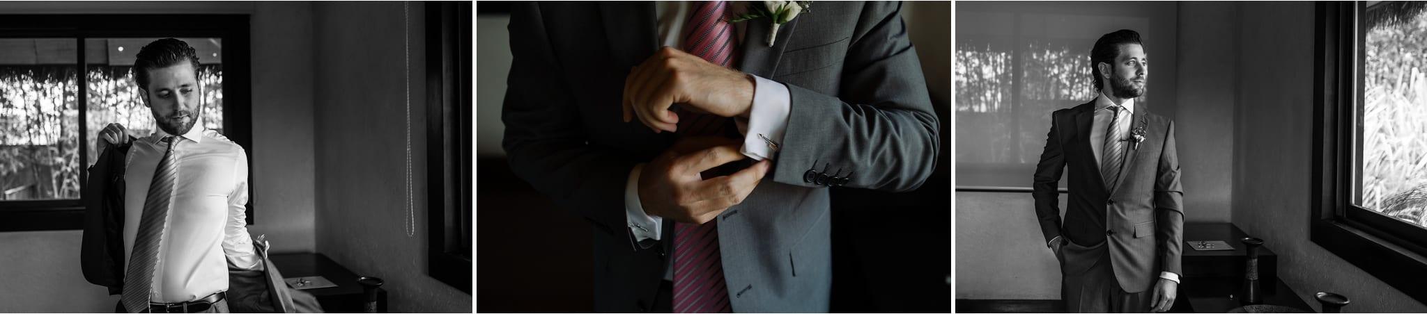 traje de novio boda de dia