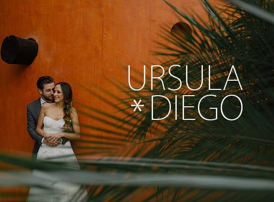 Ursula & Diego - Bodas en Rojo Azafrán Cuernavaca