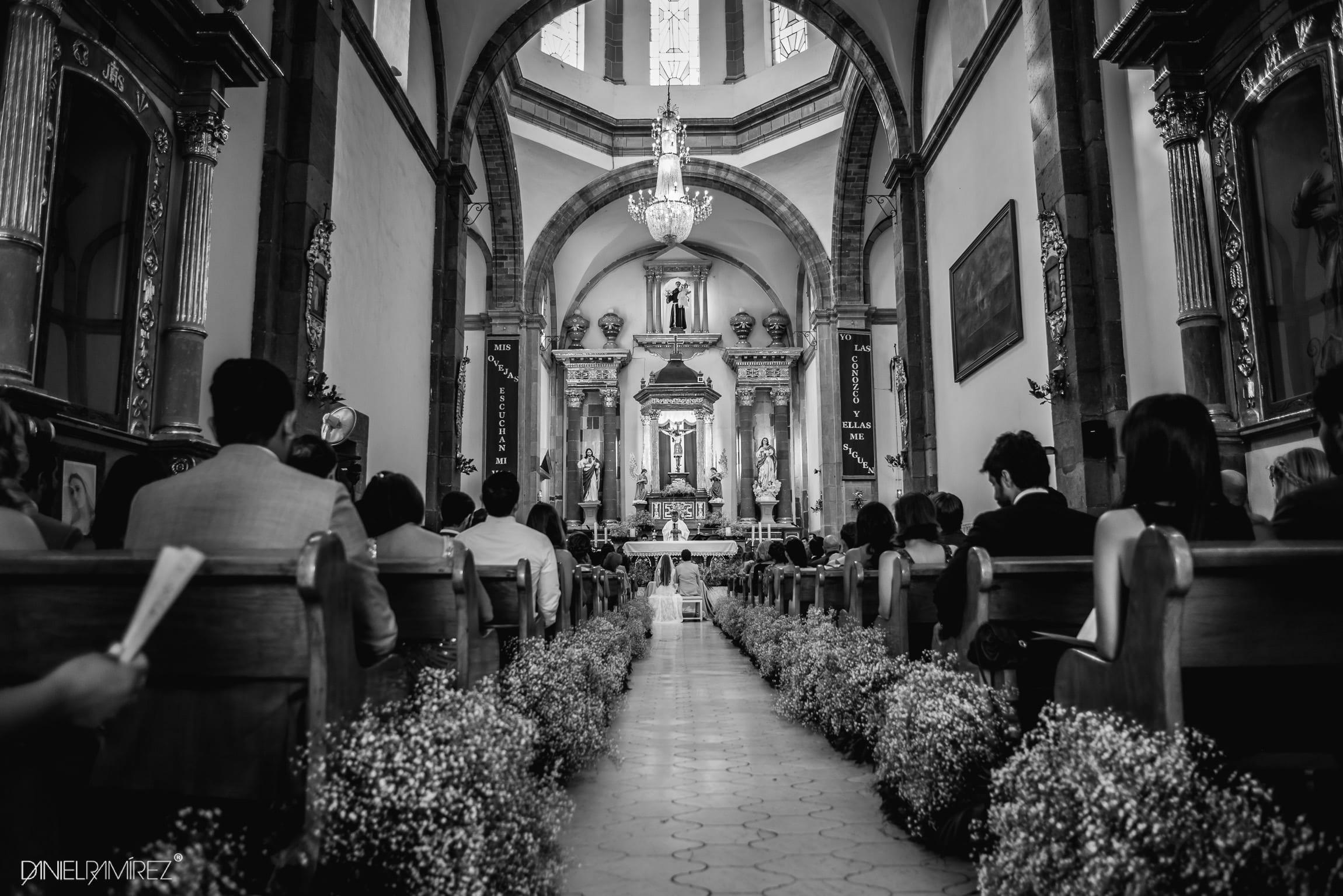 church wedding san miguel