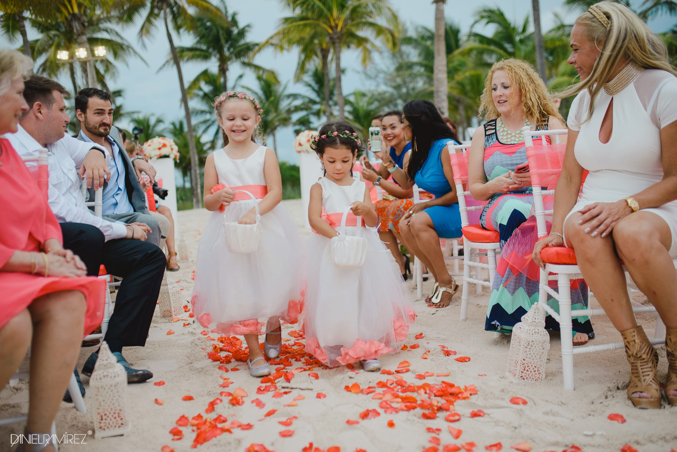 playa azul barcelo photos wedding