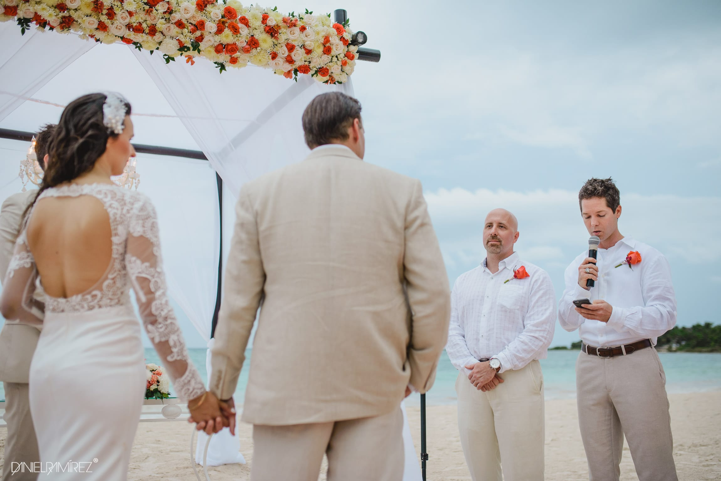 beach ceremony playa