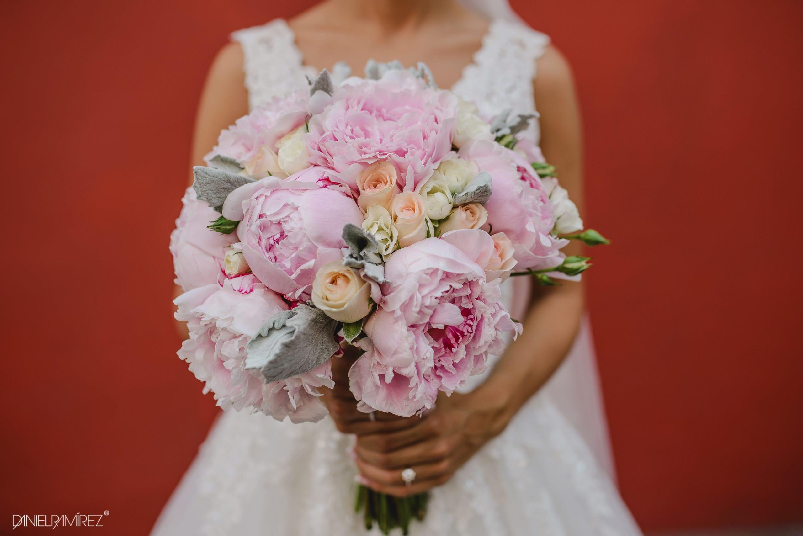 ramo de novia puebla flores
