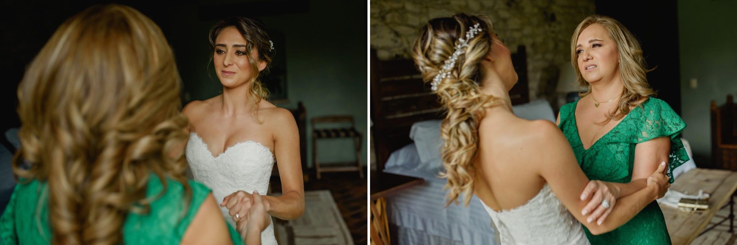 vestido novia boda de dia