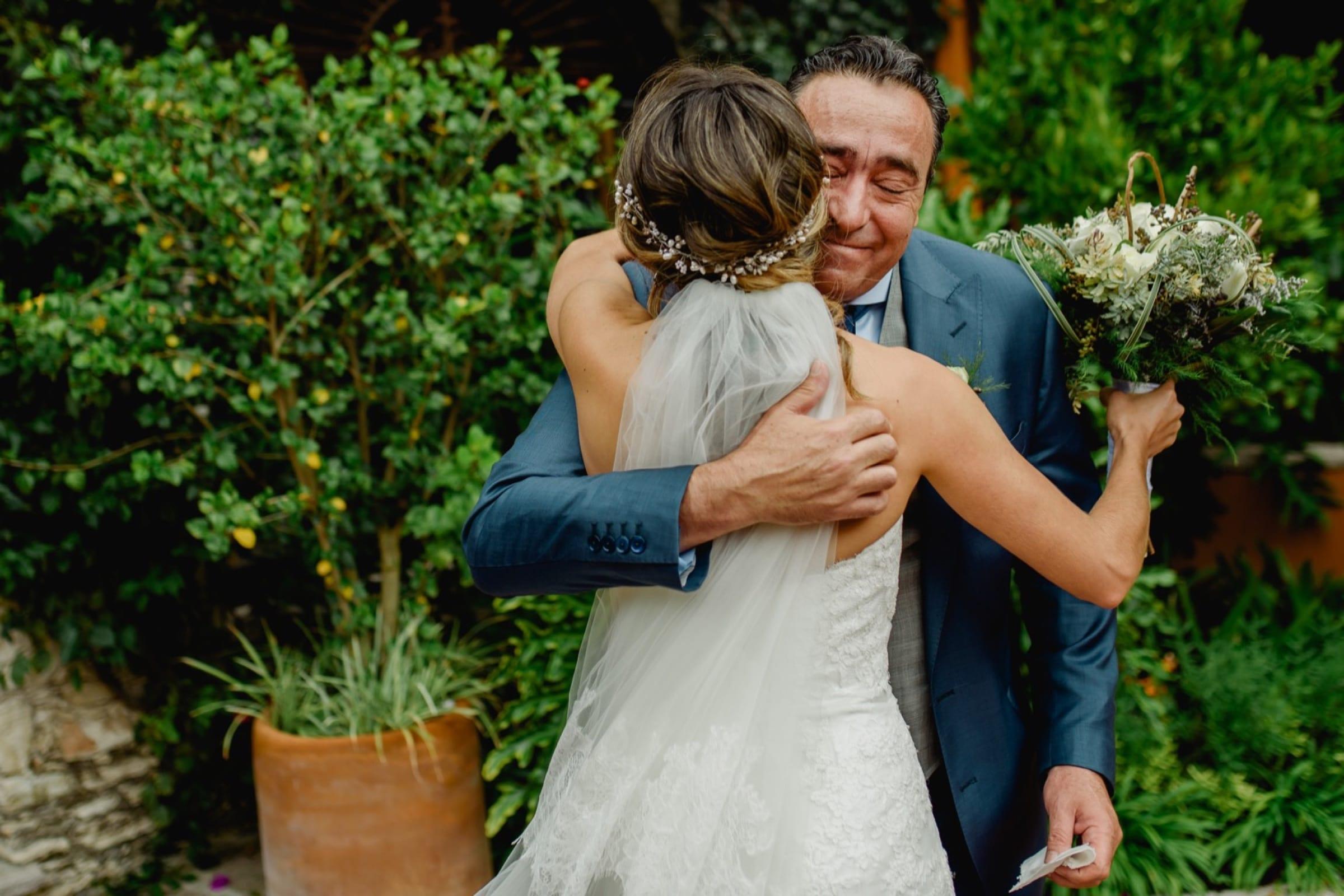 papa de la novia