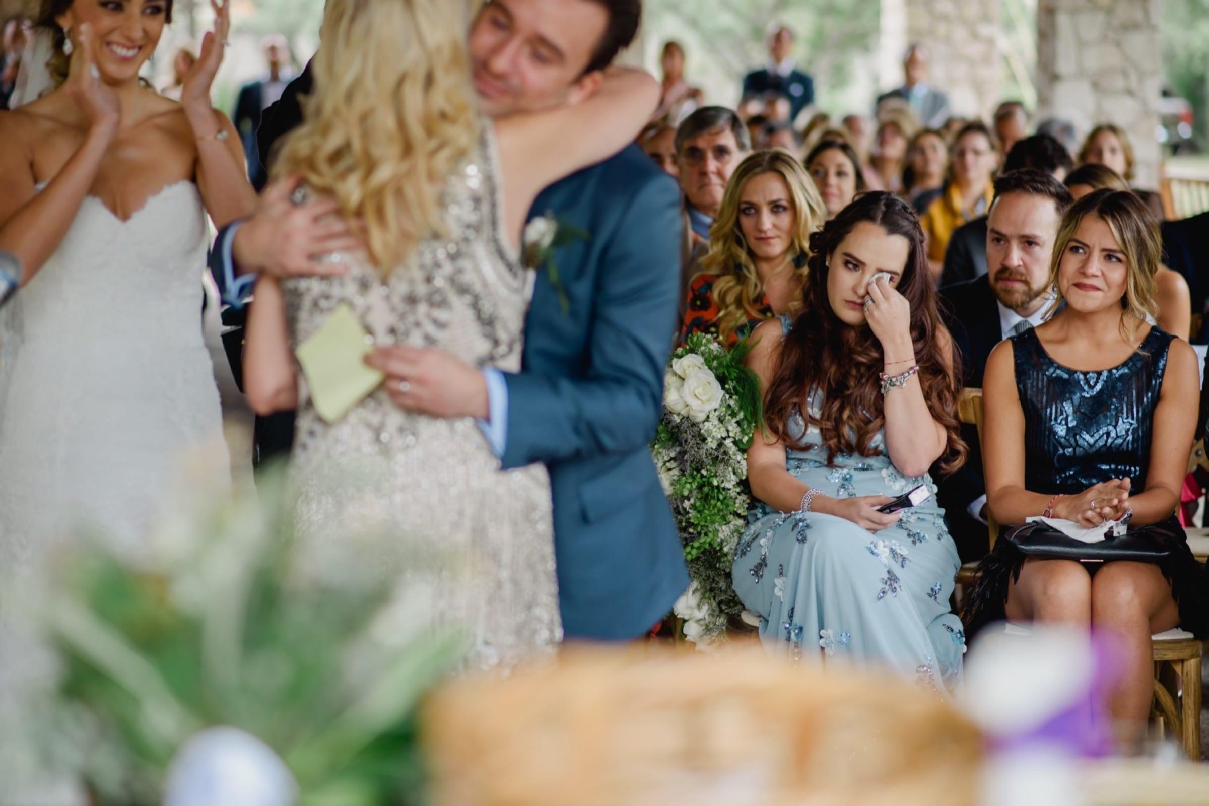 momentos en las bodas