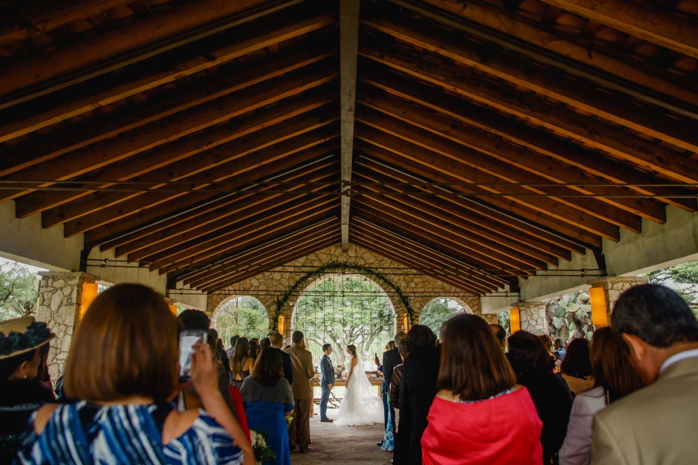 ceremonia en rancho las sabinas