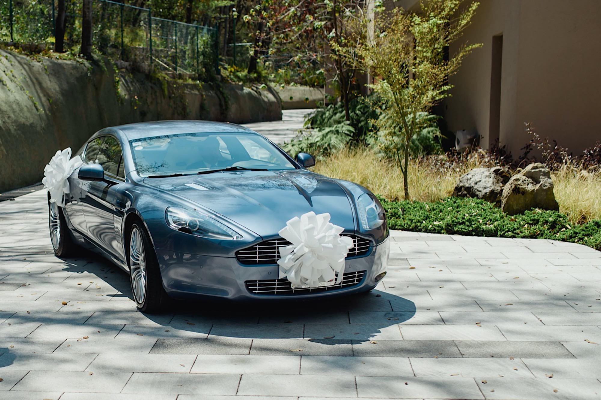 arreglo coche boda